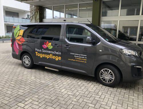 Unser freundlicher Tagespflege Fahrservice, auch für Rostuhlfahrer